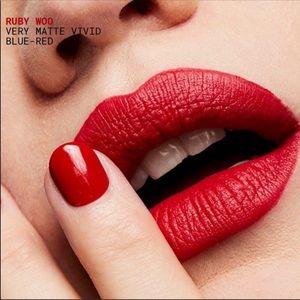 💄 MAC 💄 Ruby Woo Vivid Bright Red Mini Lipstick